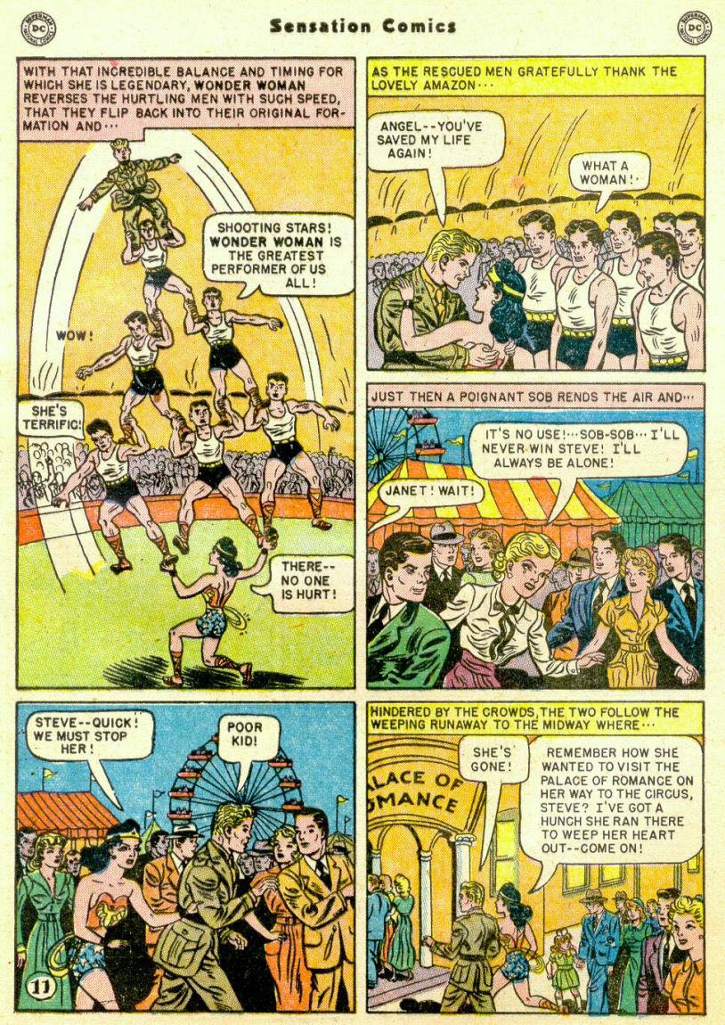 Read online Sensation (Mystery) Comics comic -  Issue #98 - 13