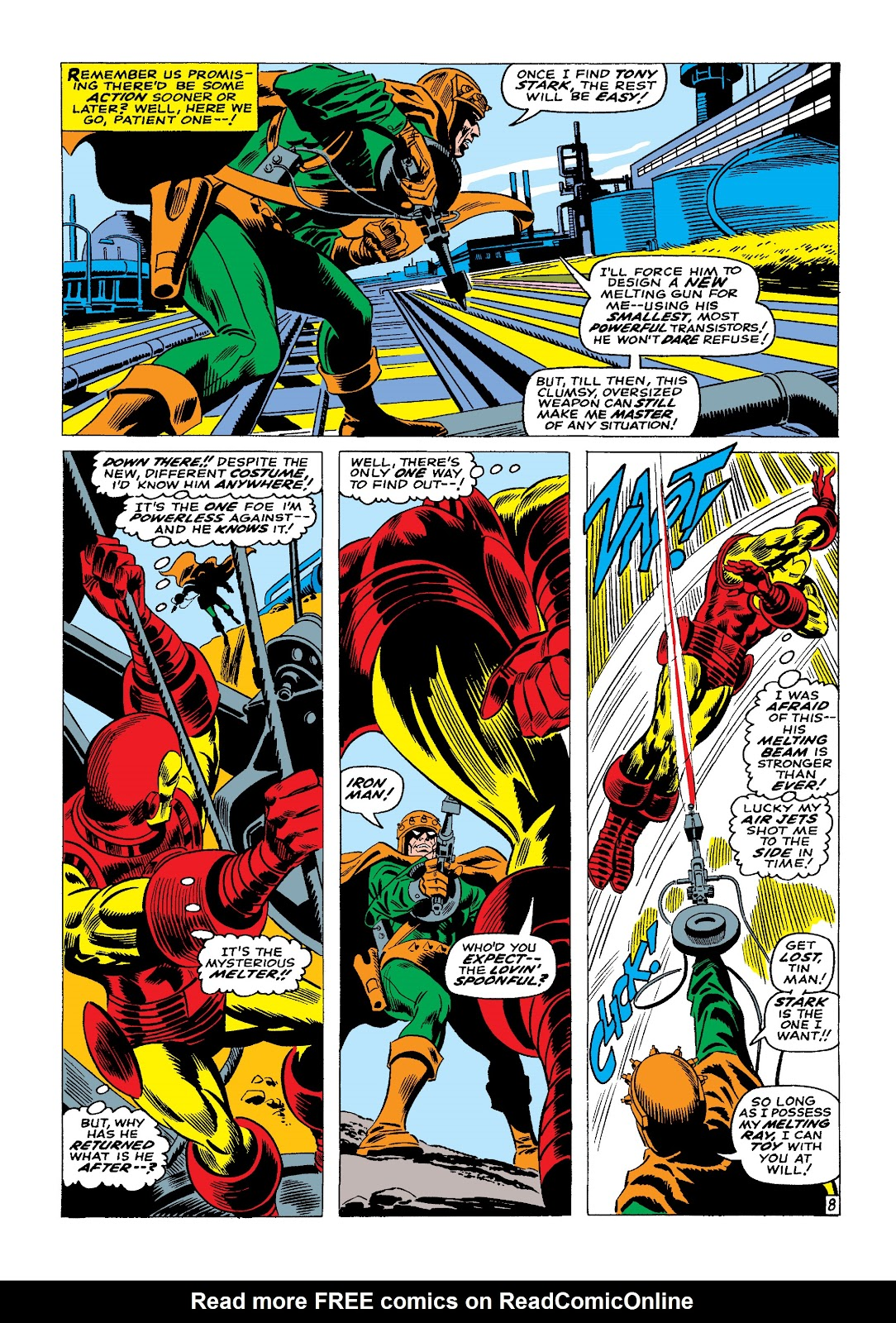 Read online Marvel Masterworks: The Invincible Iron Man comic -  Issue # TPB 4 (Part 1) - 79