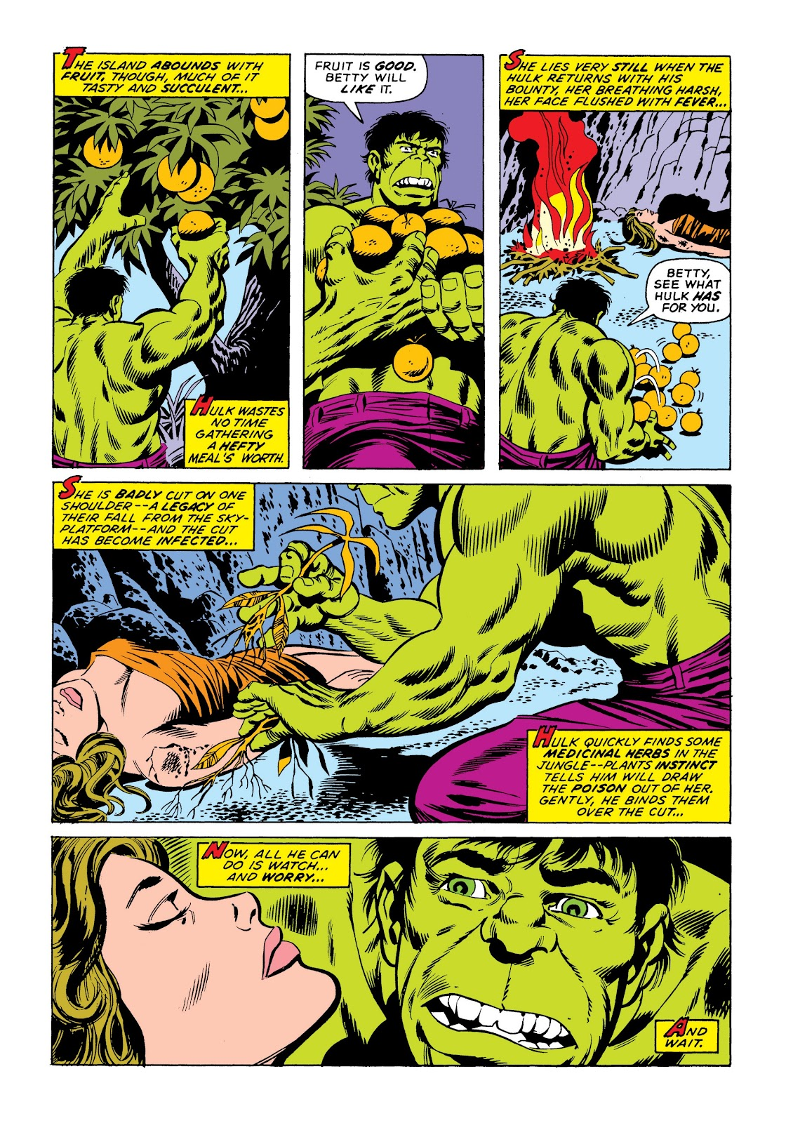 Read online Marvel Masterworks: The Incredible Hulk comic -  Issue # TPB 9 (Part 3) - 86