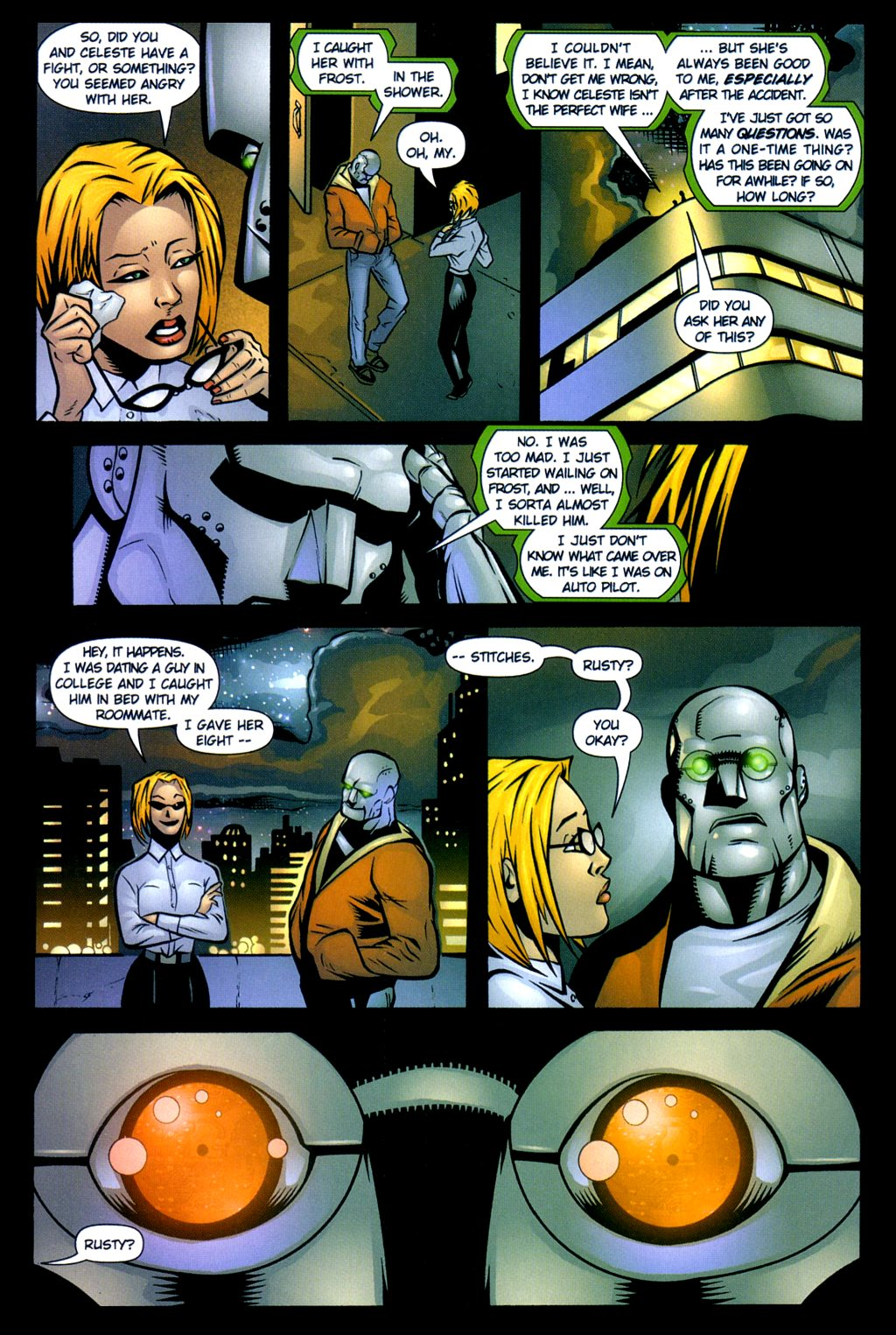 Read online Noble Causes (2002) comic -  Issue #3 - 16