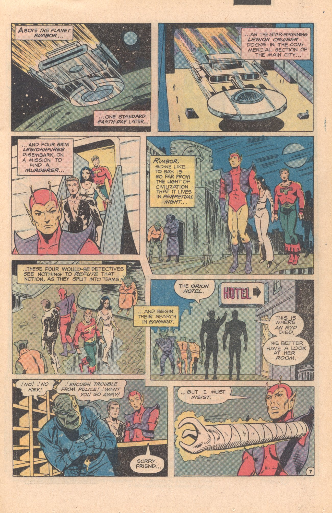 Legion of Super-Heroes (1980) 273 Page 7
