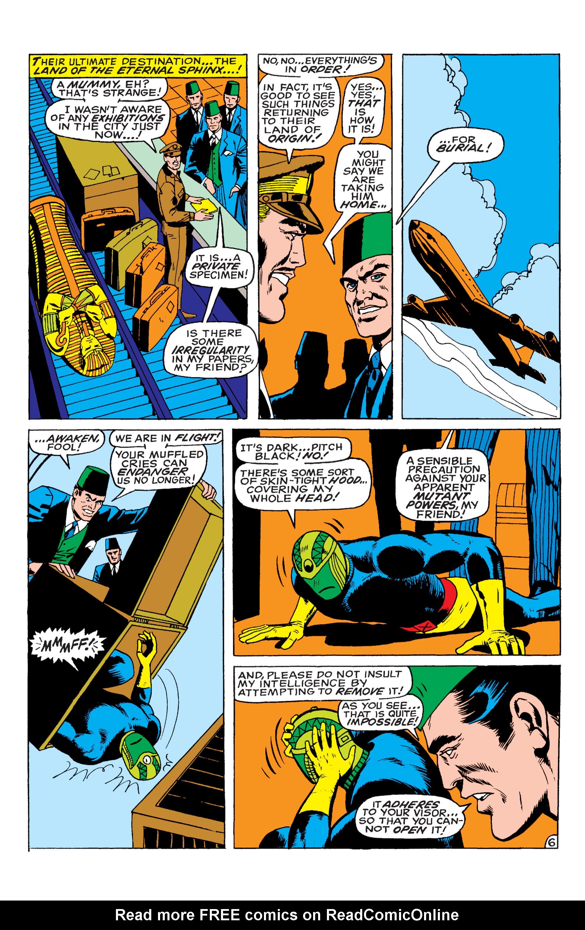 Uncanny X-Men (1963) 55 Page 6