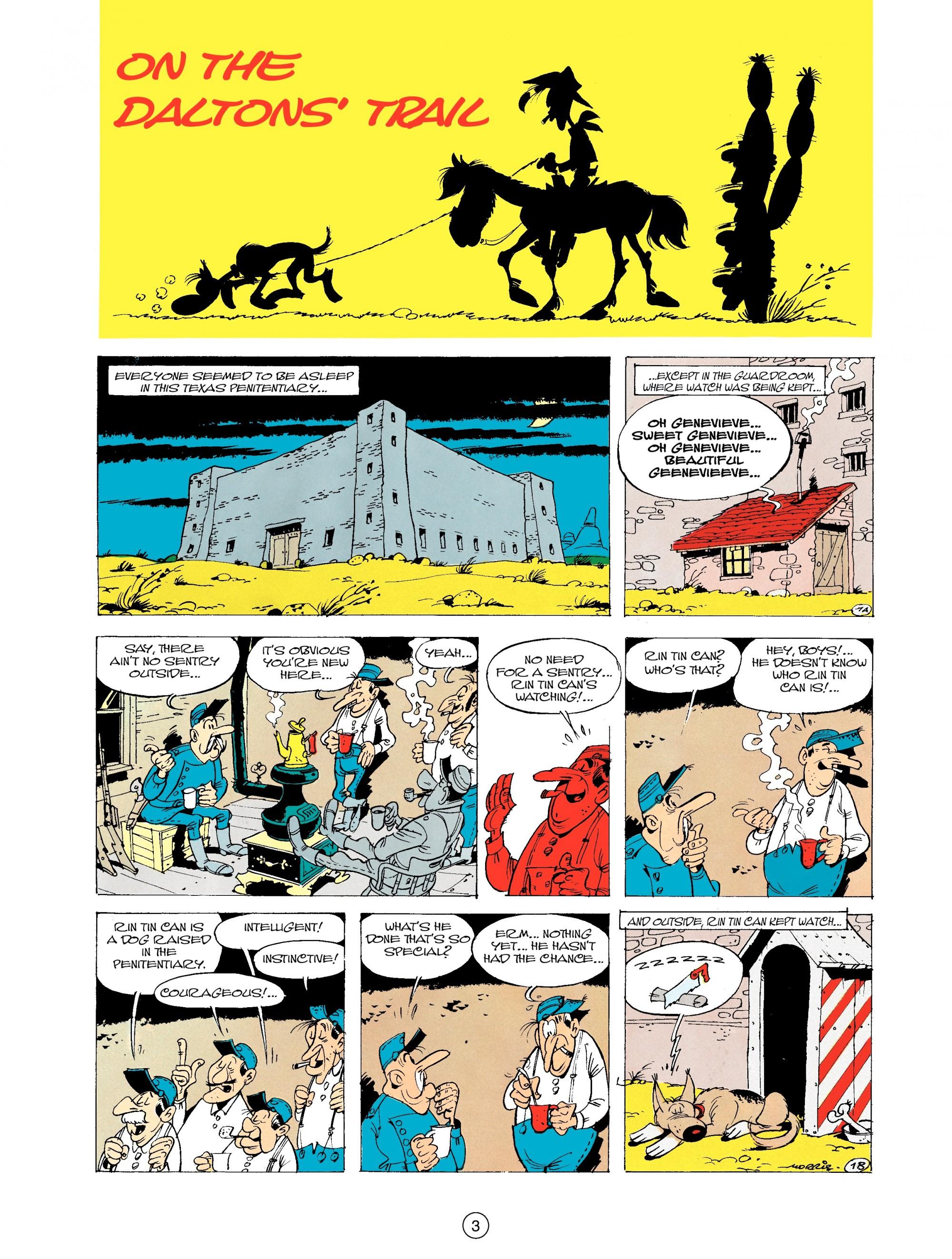 Read online A Lucky Luke Adventure comic -  Issue #19 - 3
