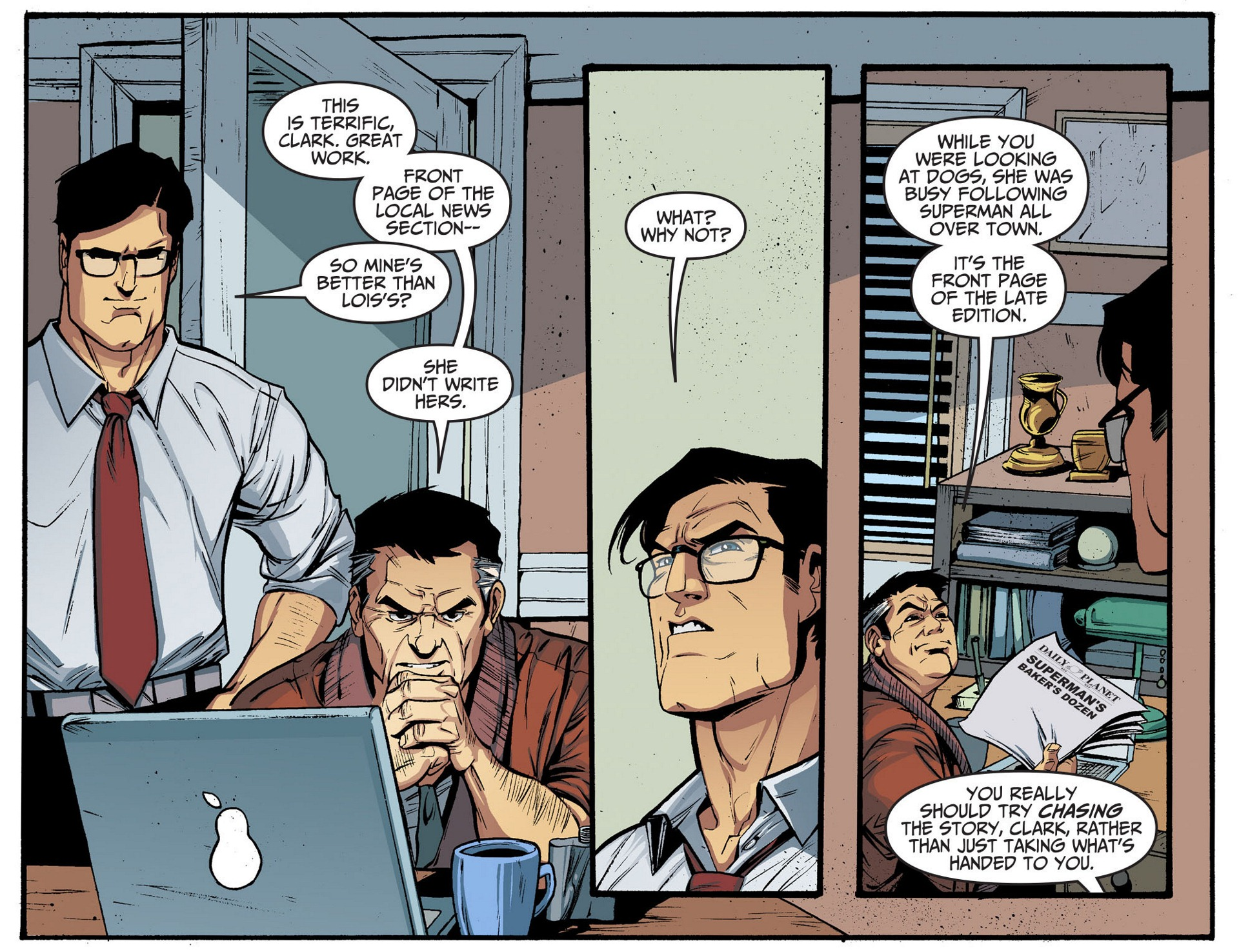 Read online Adventures of Superman [I] comic -  Issue #5 - 21