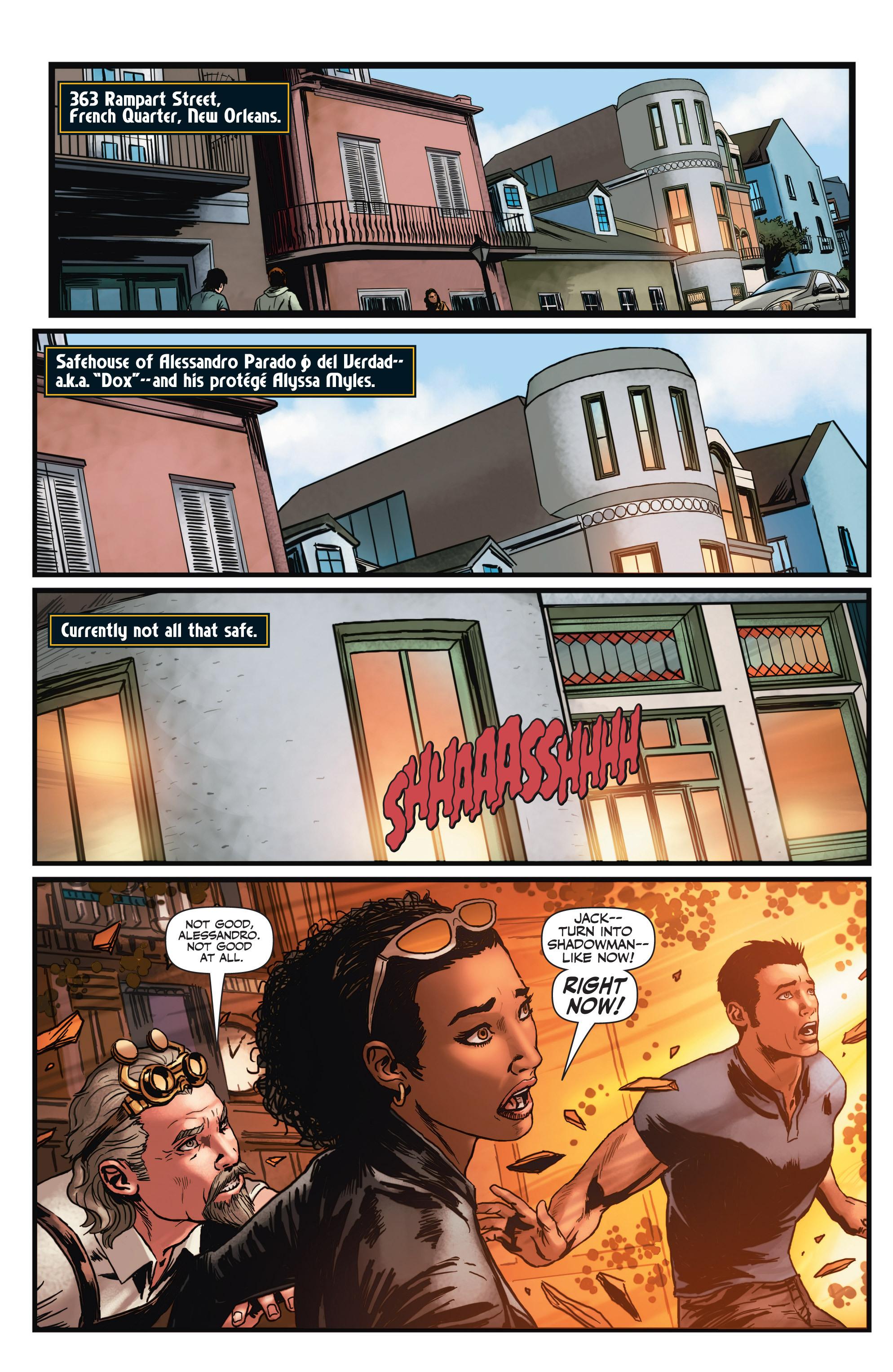 Read online Shadowman (2012) comic -  Issue #3 - 3