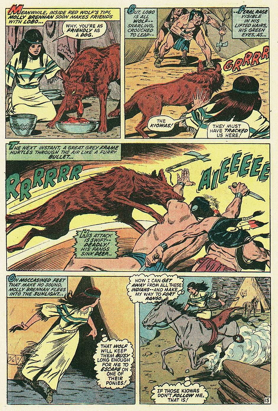Red Wolf (1972) issue 2 - Page 16