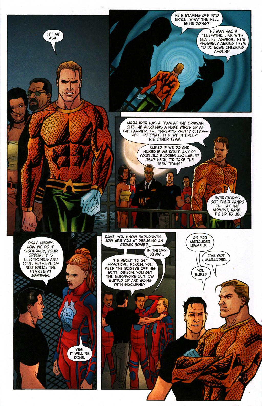 Read online Aquaman (2003) comic -  Issue #24 - 13