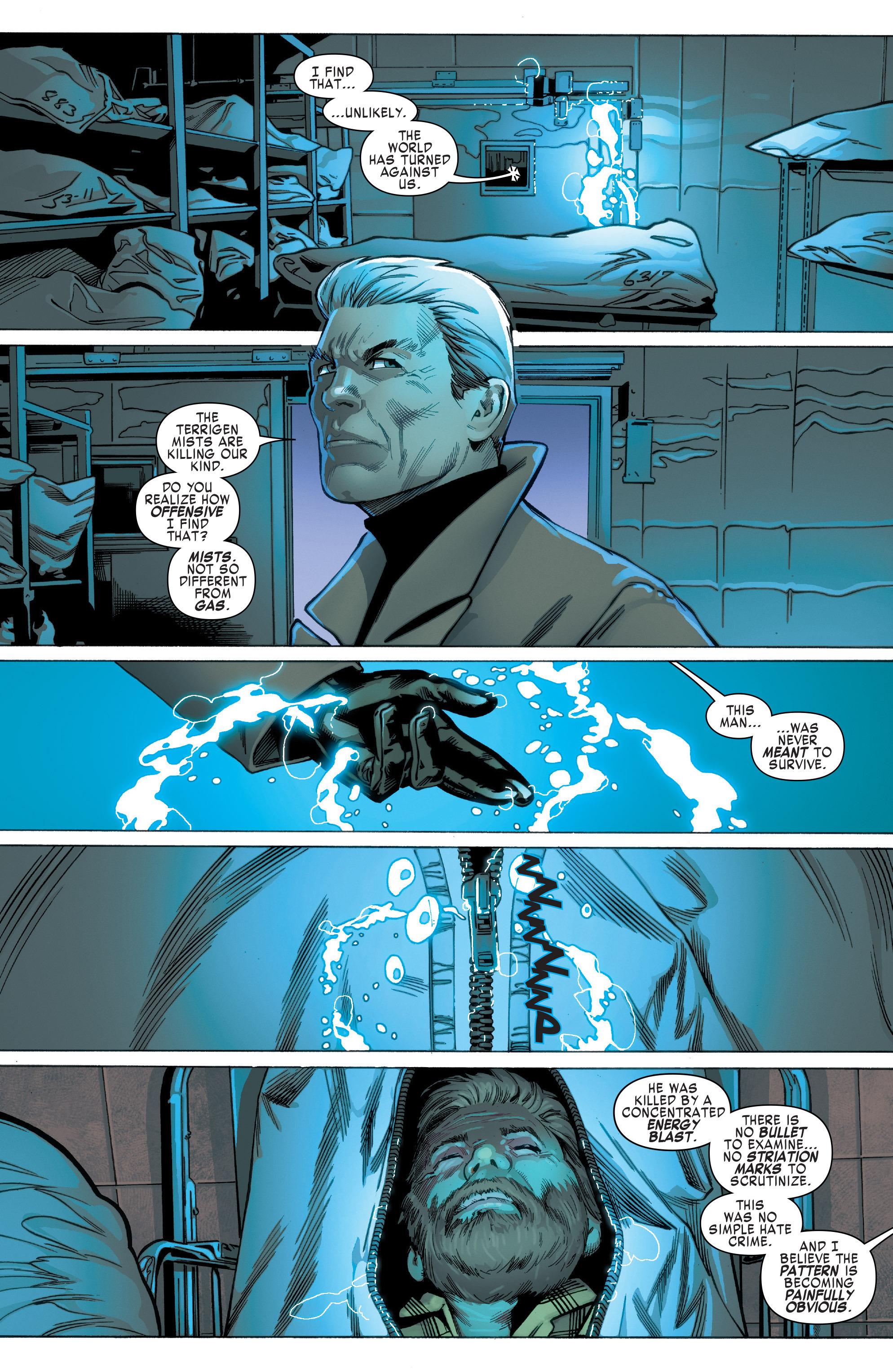 Read online Uncanny X-Men (2016) comic -  Issue #2 - 9