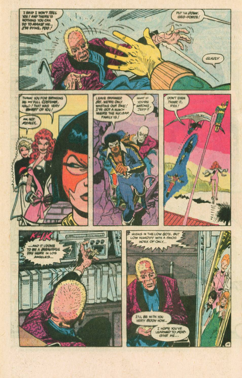 Read online Adventures of the Outsiders comic -  Issue #40 - 15