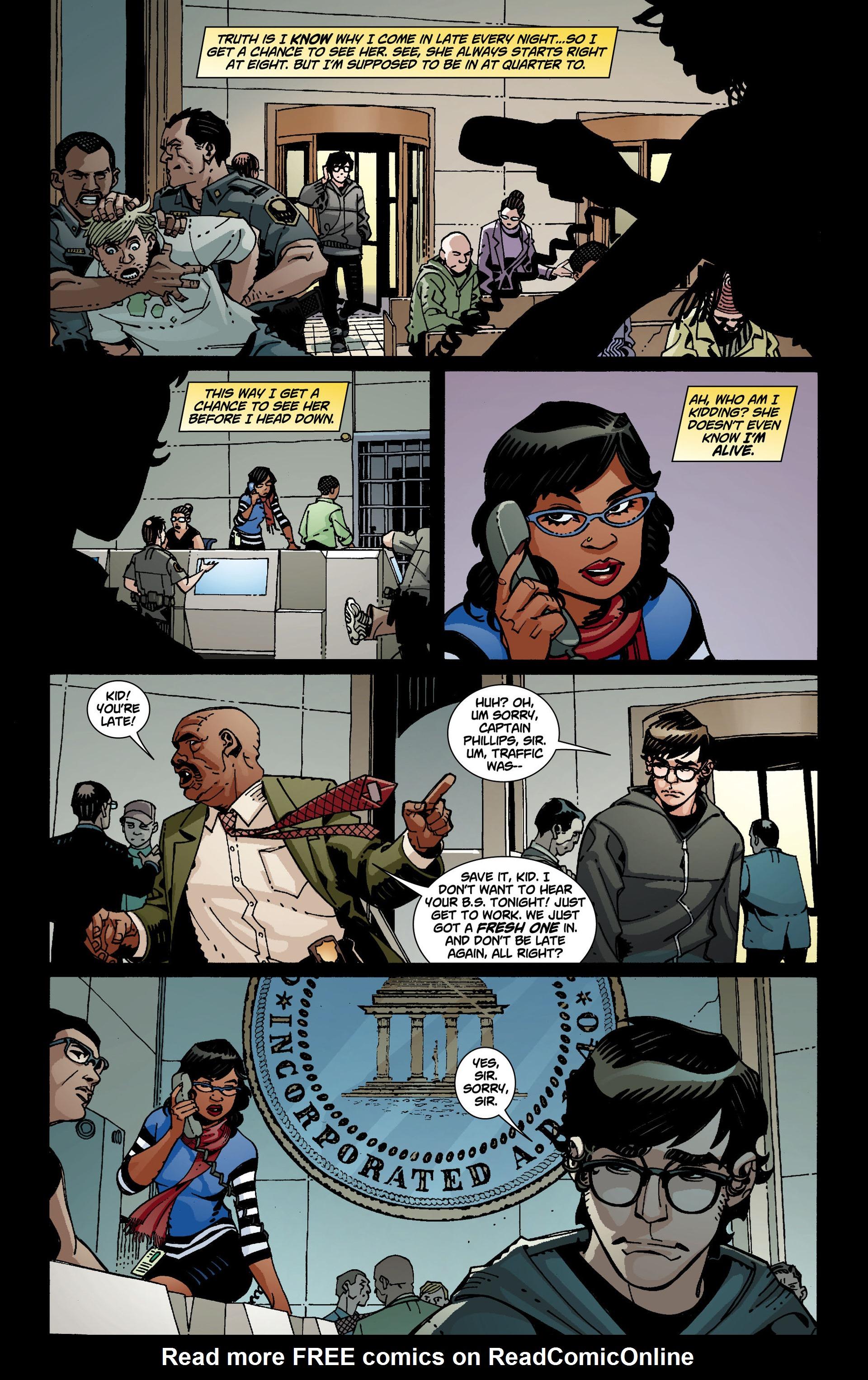 Read online National Comics: Eternity comic -  Issue # Full - 8