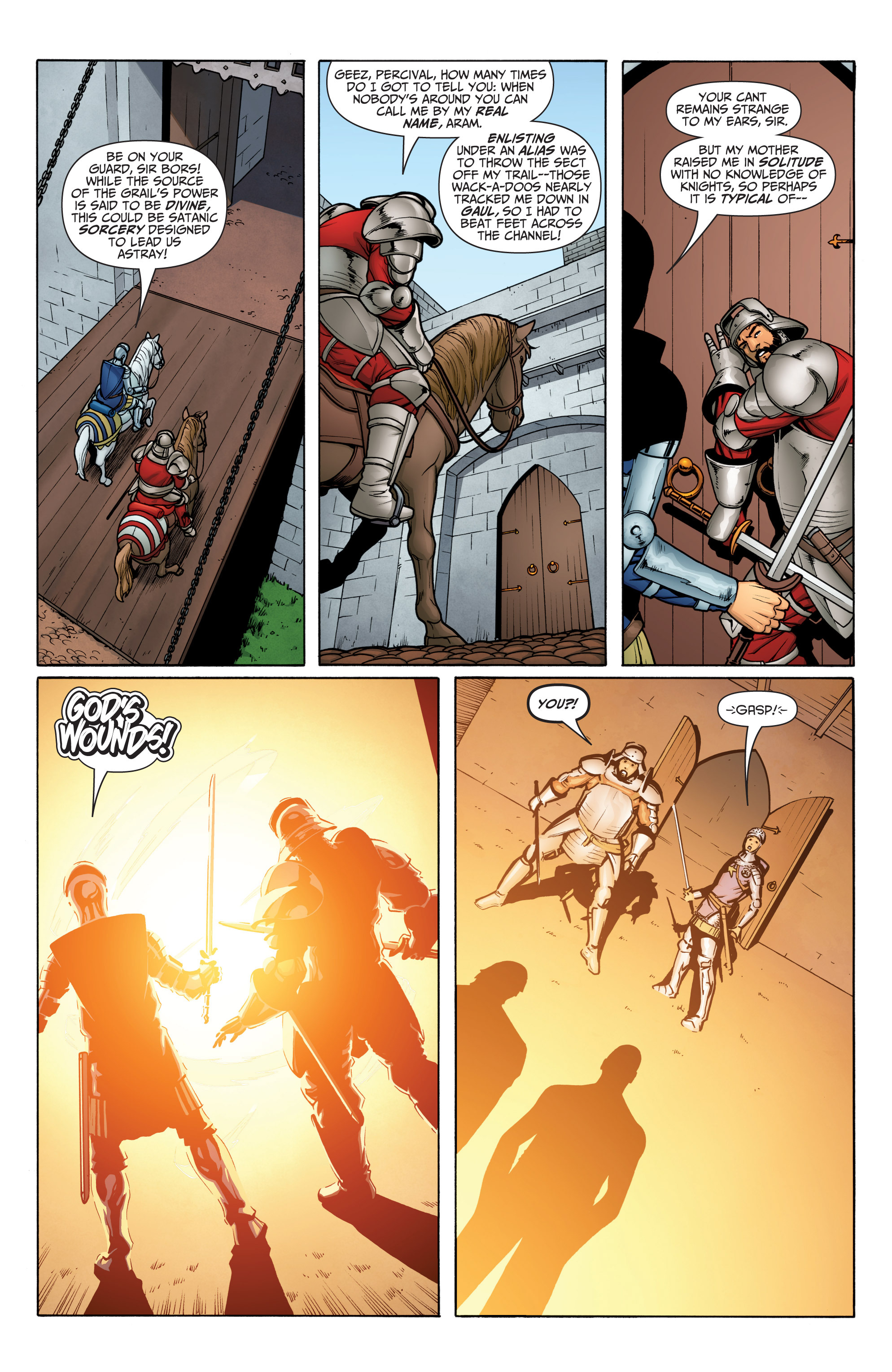Read online Archer and Armstrong comic -  Issue #Archer and Armstrong _TPB 6 - 55