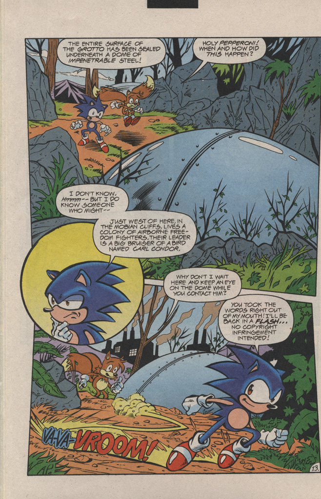 Read online Sonic Quest - The Death Egg Saga comic -  Issue #1 - 20