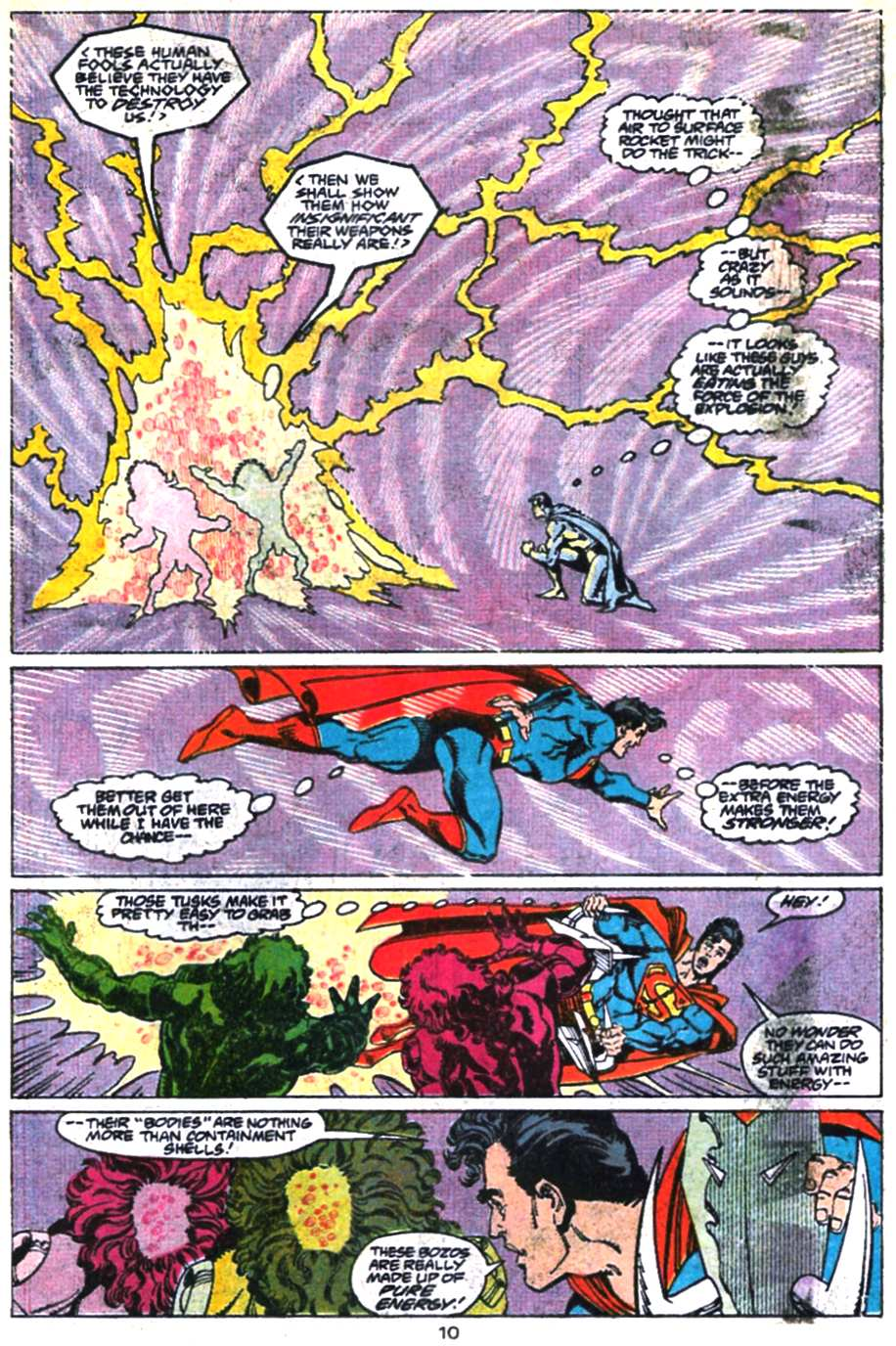 Read online Adventures of Superman (1987) comic -  Issue #469 - 11