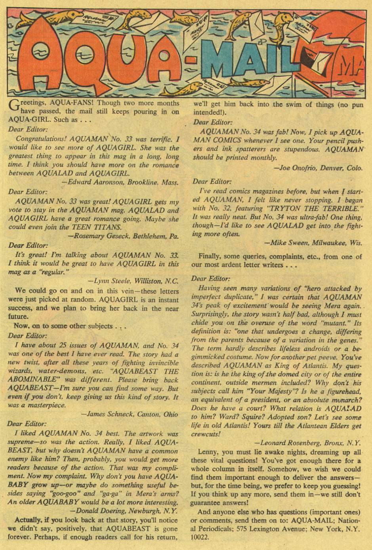 Read online Aquaman (1962) comic -  Issue #36 - 13