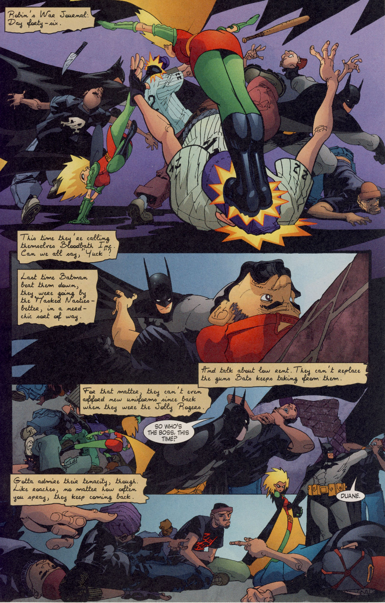 Read online Batman War Drums comic -  Issue # TPB - 201