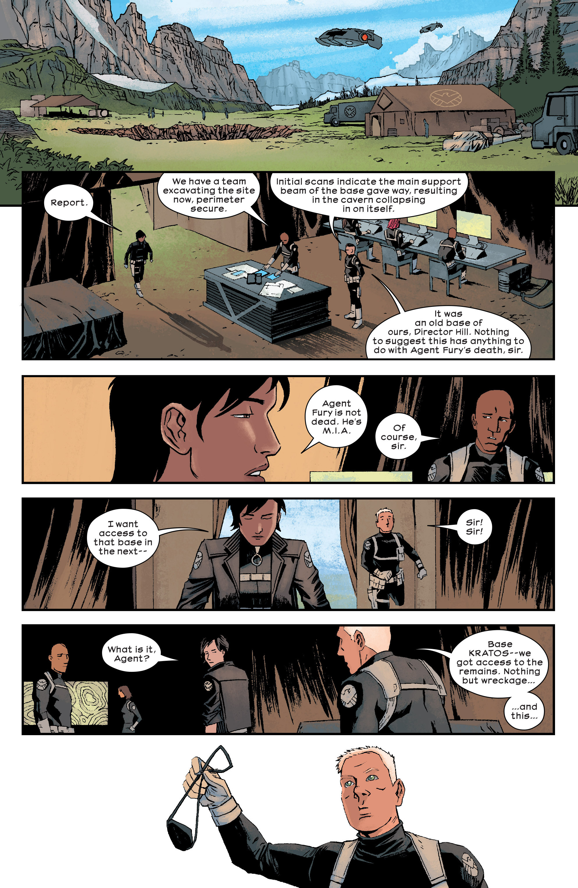 Read online Civil War II: Choosing Sides comic -  Issue #6 - 18