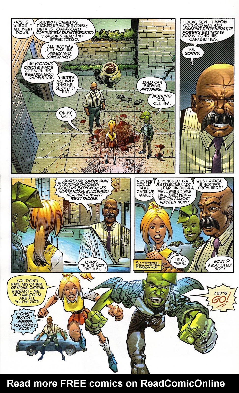 The Savage Dragon (1993) Issue #151 #154 - English 8