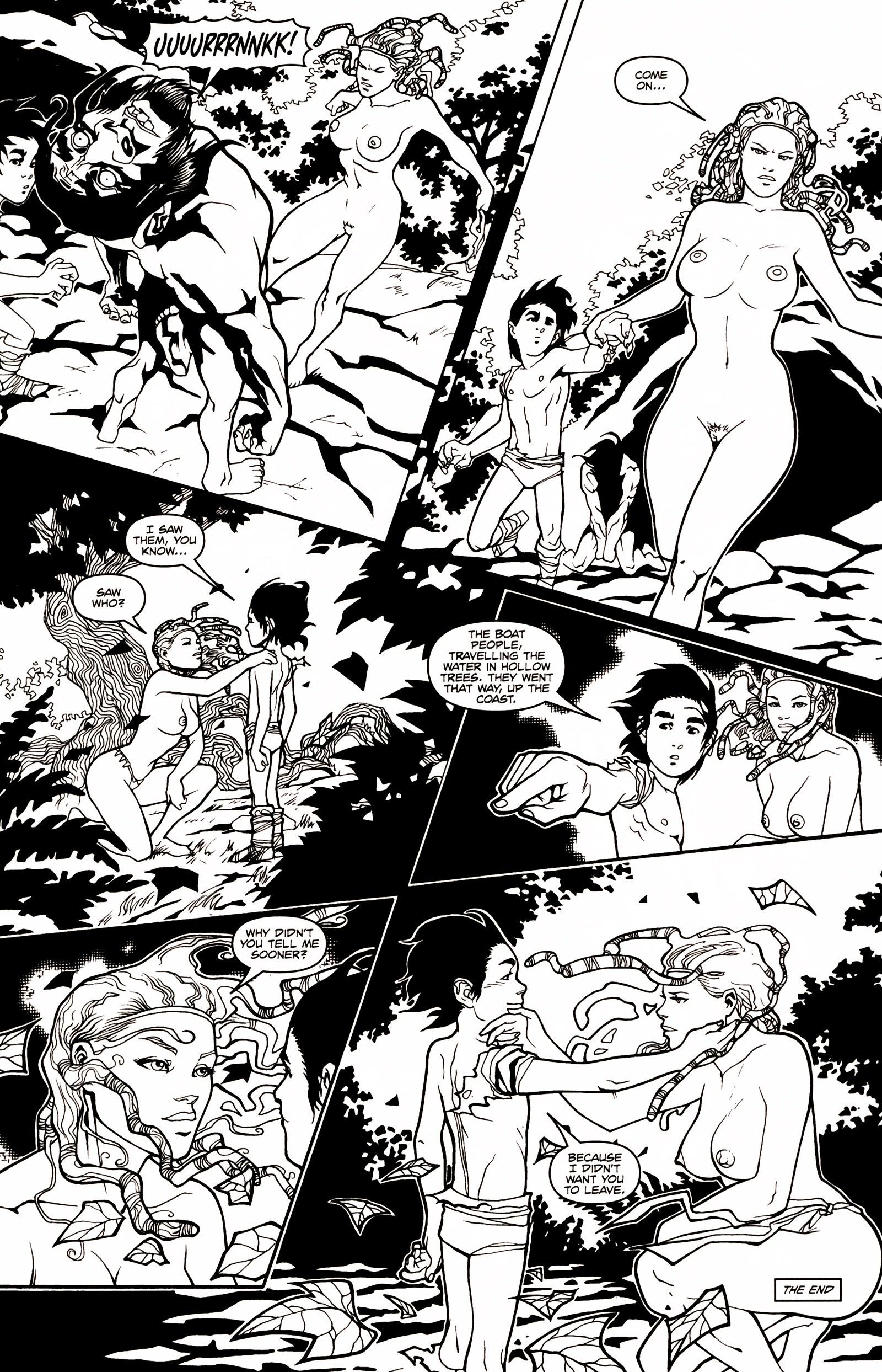 Read online Jungle Fantasy (2002) comic -  Issue # _Annual 1 - 30