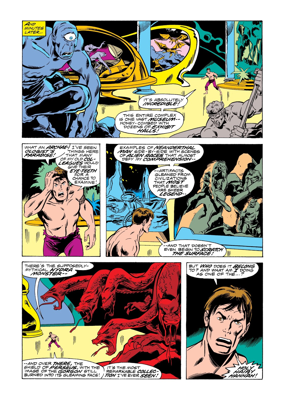 Read online Marvel Masterworks: The Incredible Hulk comic -  Issue # TPB 12 (Part 1) - 33