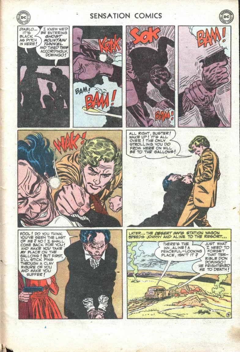 Read online Sensation (Mystery) Comics comic -  Issue #109 - 29