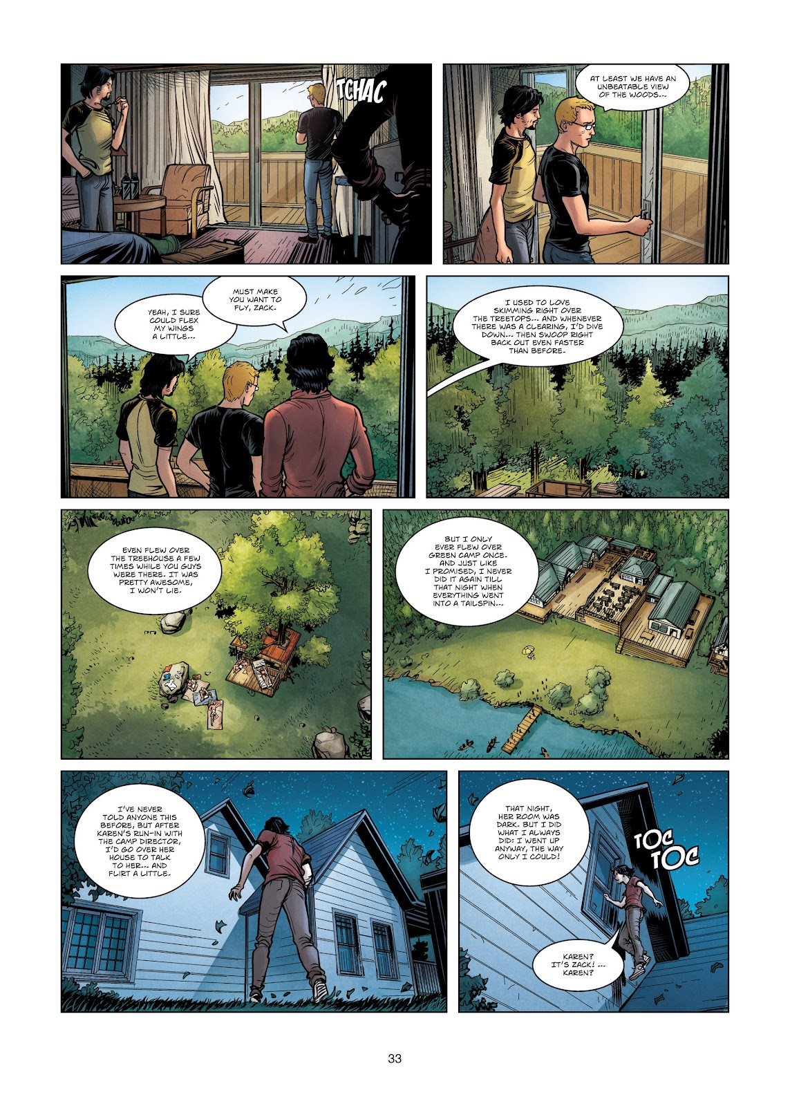 Read online Vigilantes comic -  Issue #3 - 33