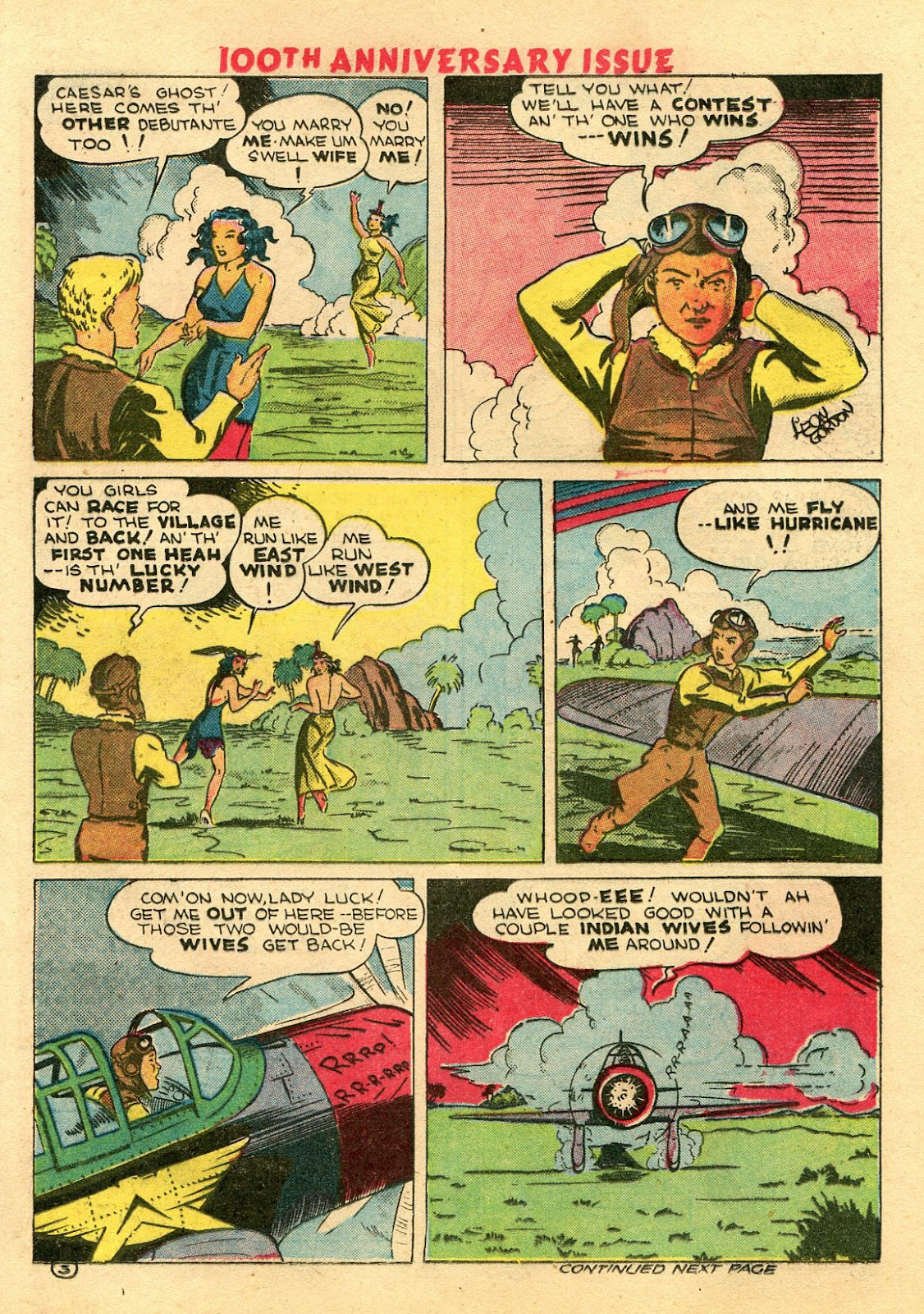 Read online Famous Funnies comic -  Issue #100 - 49