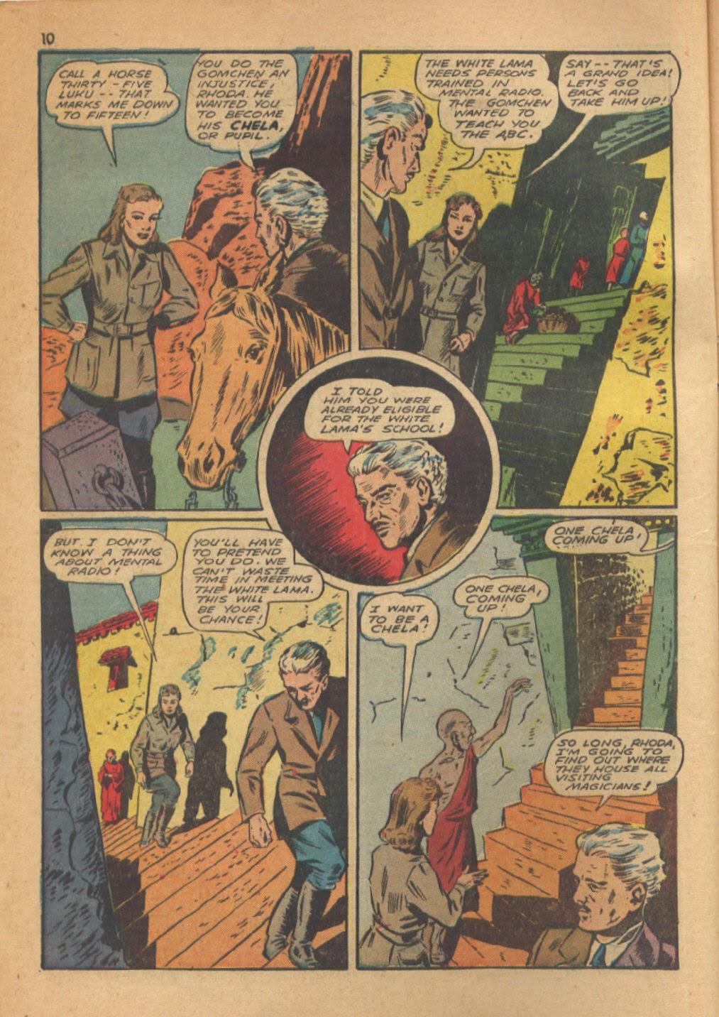 Read online Super-Magician Comics comic -  Issue #13 - 10