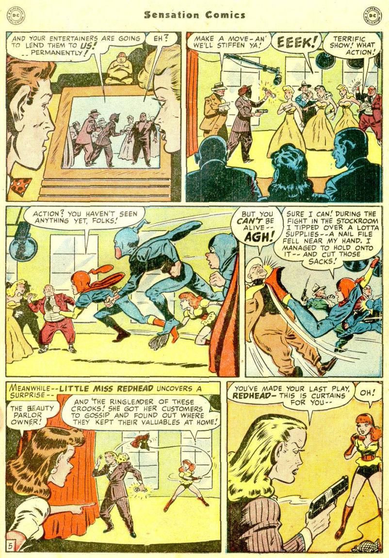 Read online Sensation (Mystery) Comics comic -  Issue #77 - 21