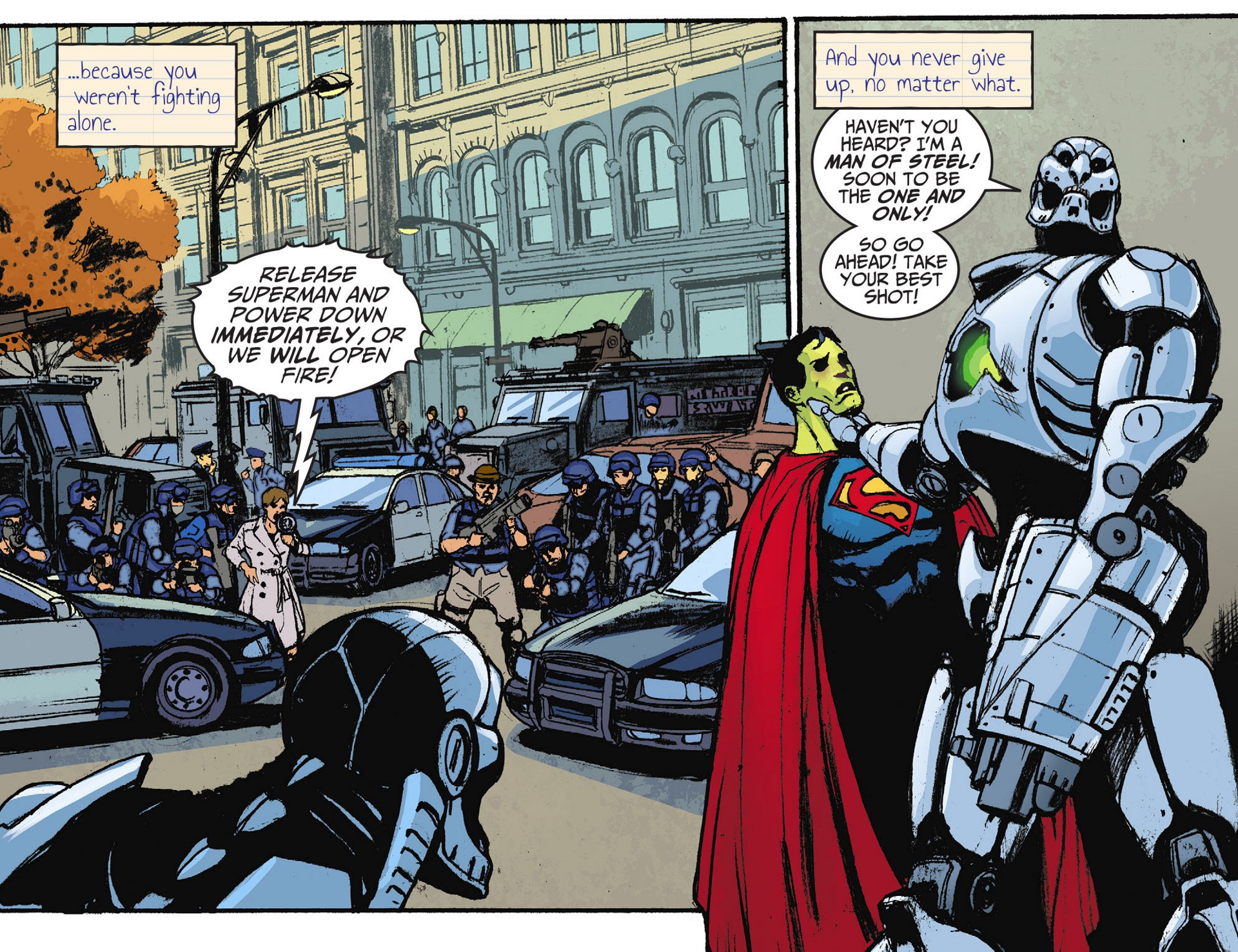 Read online Adventures of Superman [I] comic -  Issue #28 - 12