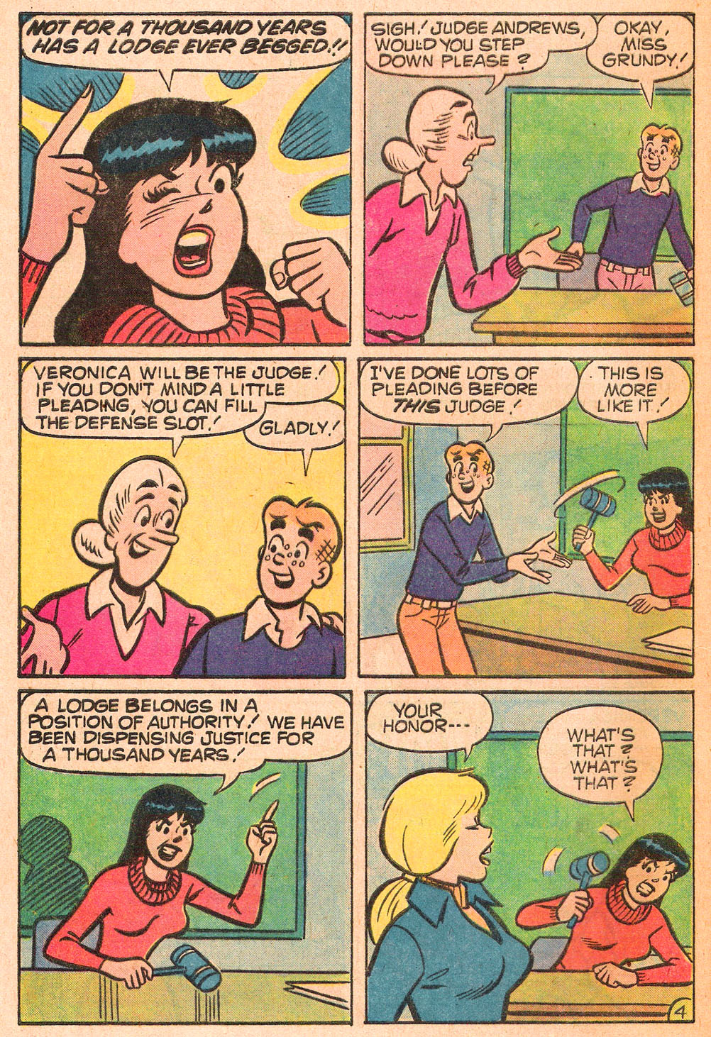 Read online Archie's Girls Betty and Veronica comic -  Issue #271 - 32