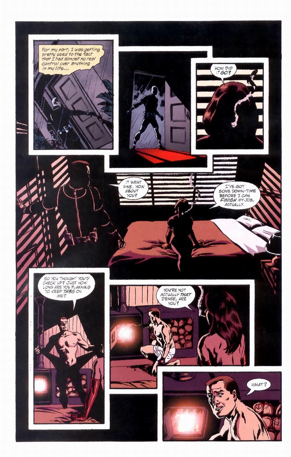 Read online Sleeper comic -  Issue #4 - 18