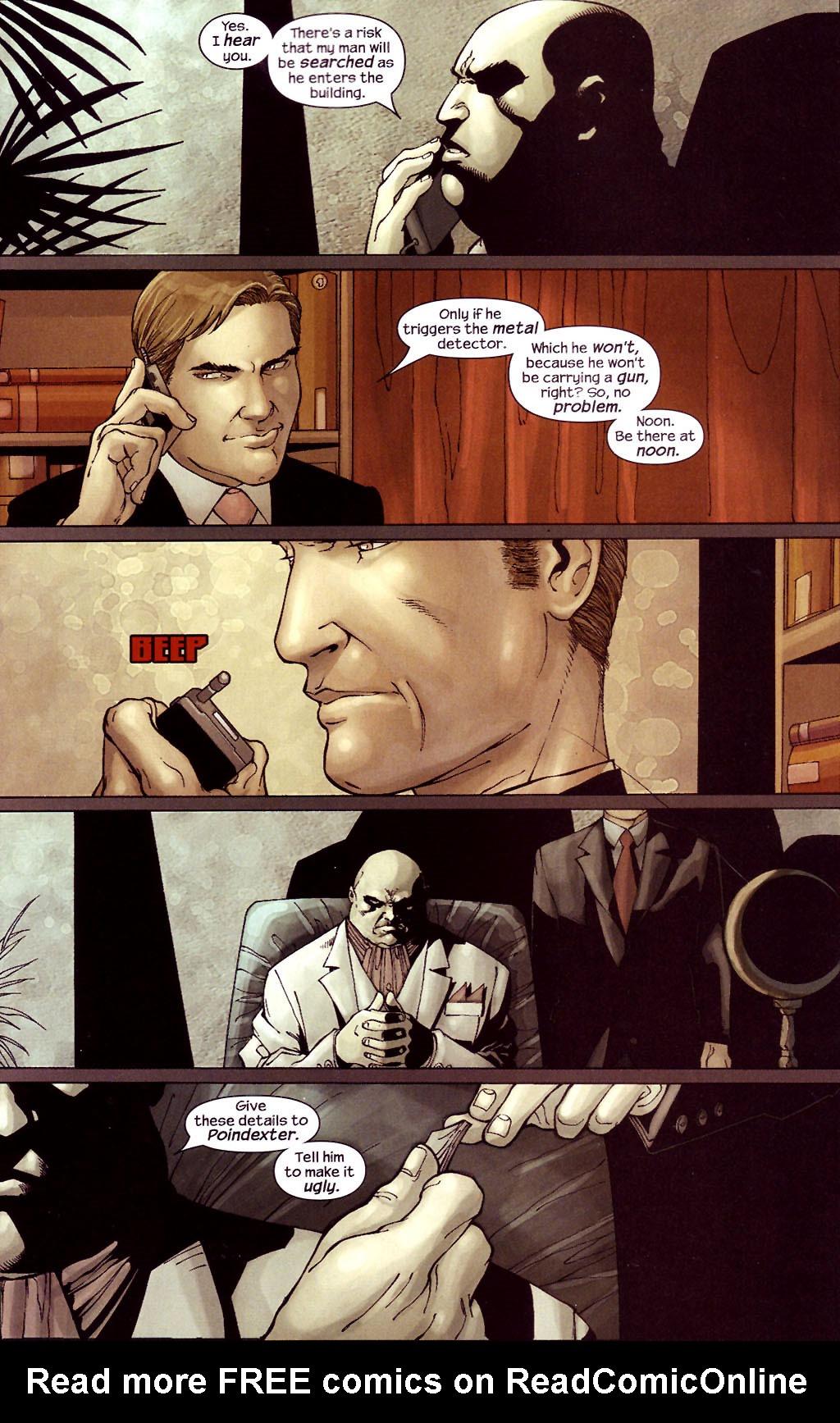 Read online Ultimate Elektra comic -  Issue #4 - 9