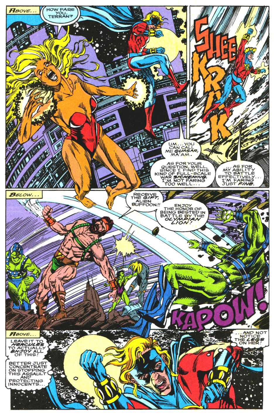 Read online Alpha Flight Special comic -  Issue #3 - 9