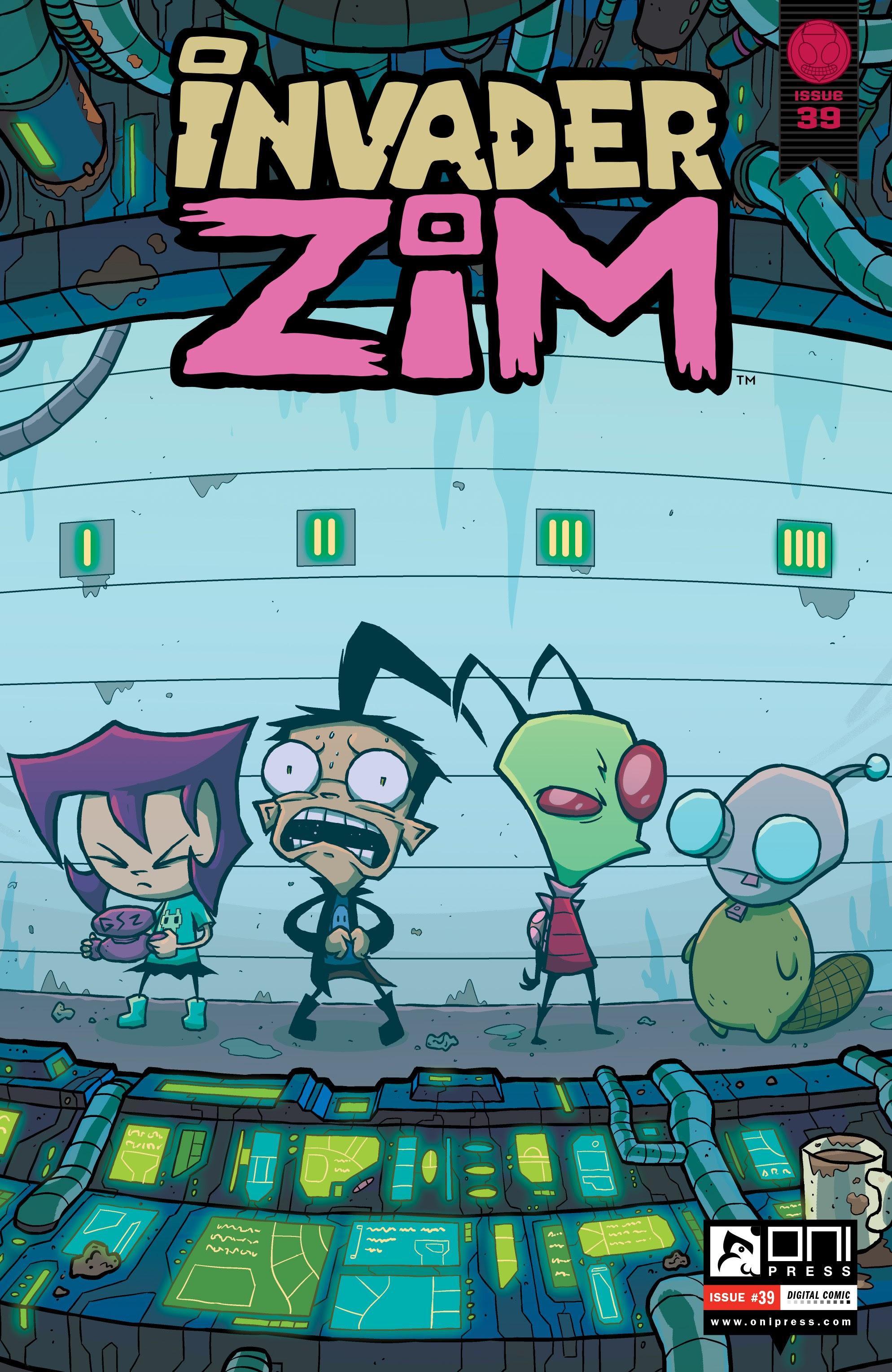 Invader Zim 39 Page 1