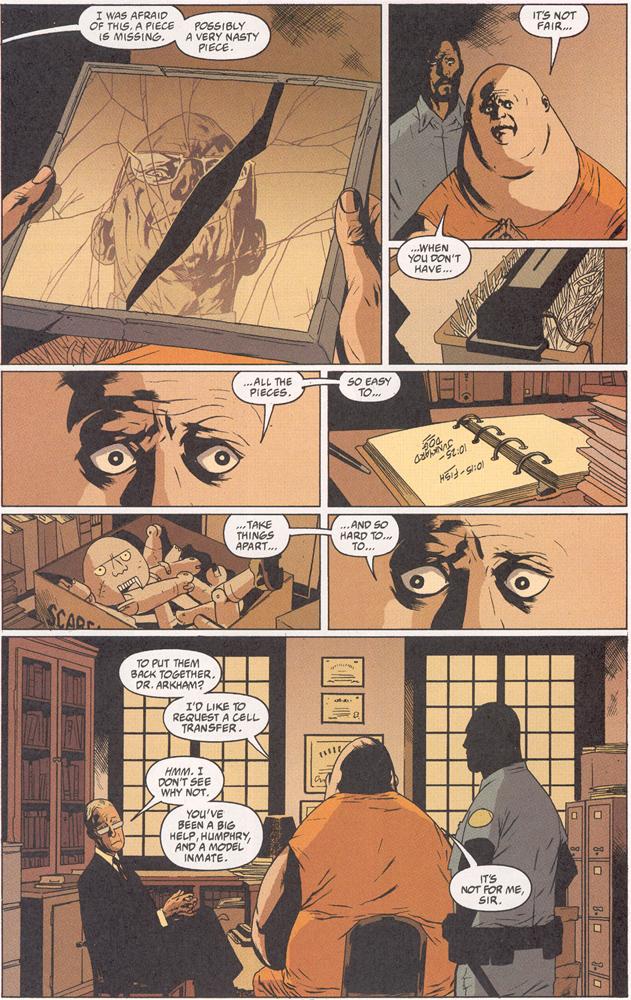 Read online Arkham Asylum: Living Hell comic -  Issue #2 - 19