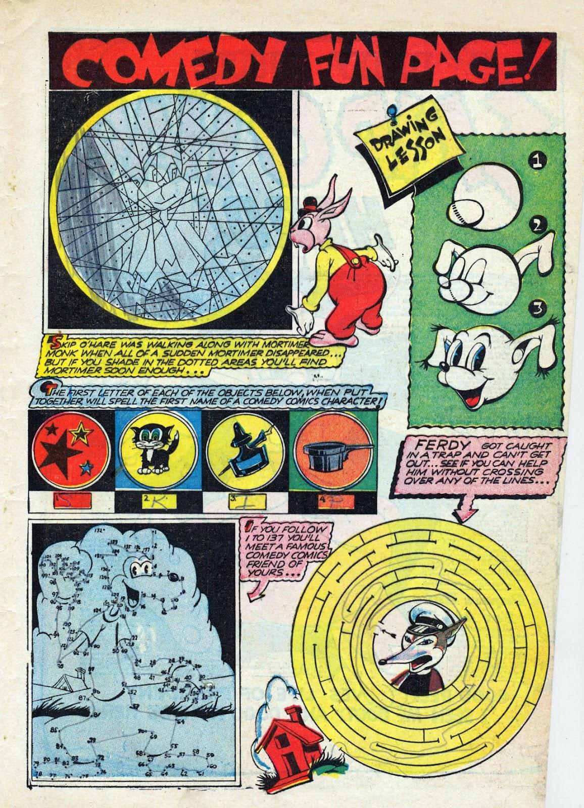 Read online Comedy Comics (1942) comic -  Issue #13 - 58