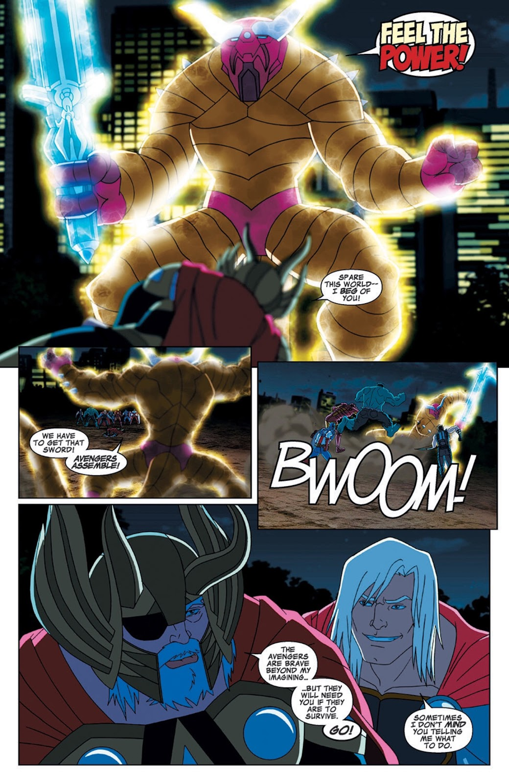 Read online Marvel Universe Avengers Assemble Season 2 comic -  Issue #7 - 23