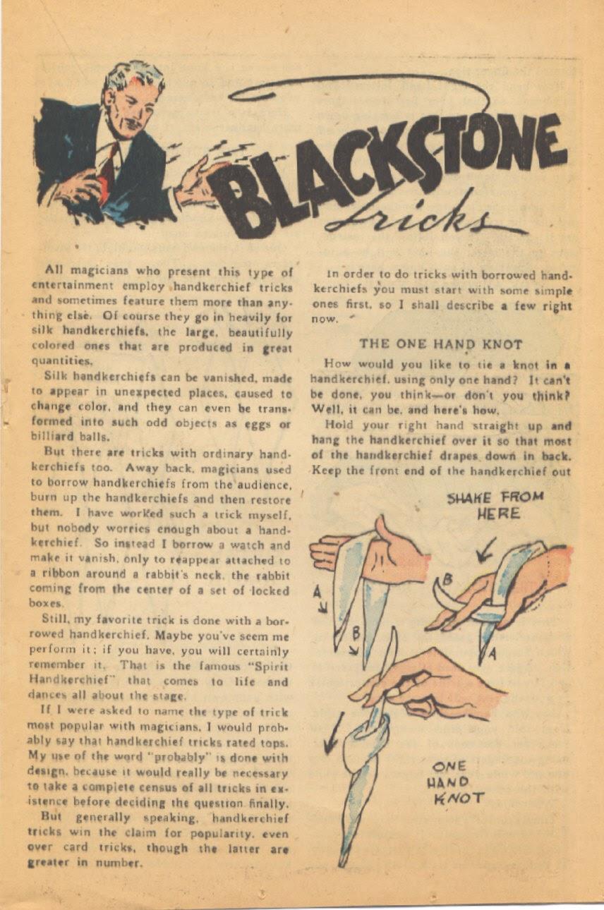 Read online Super-Magician Comics comic -  Issue #44 - 23