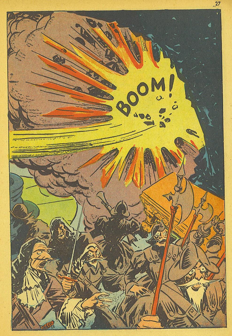 Read online Super-Magician Comics comic -  Issue #19 - 27