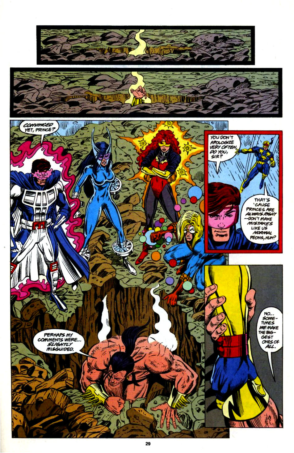 The New Warriors Issue #57 #61 - English 22