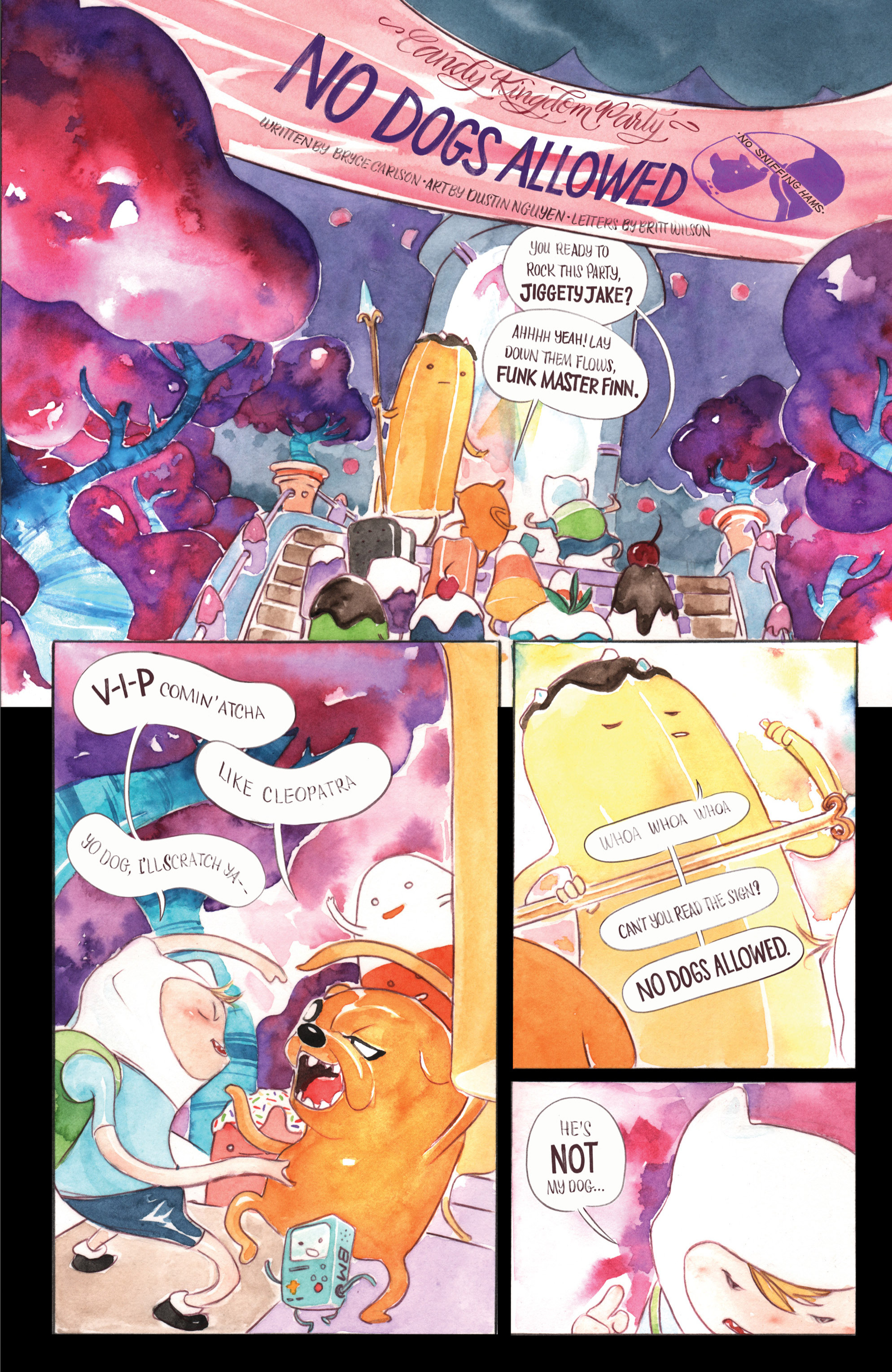 Read online Adventure Time comic -  Issue #Adventure Time _Annual 1 - 16