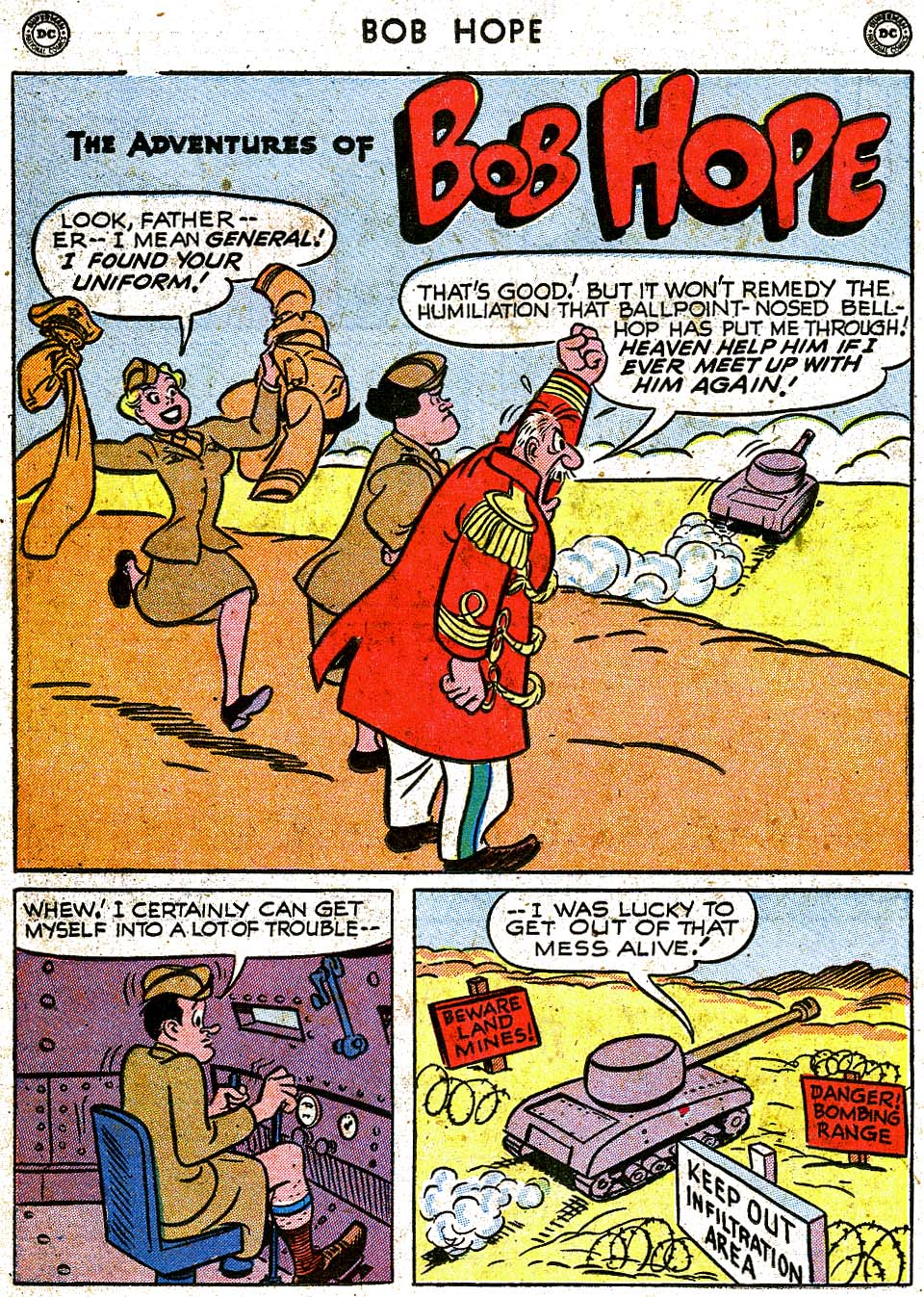 The Adventures of Bob Hope issue 8 - Page 38