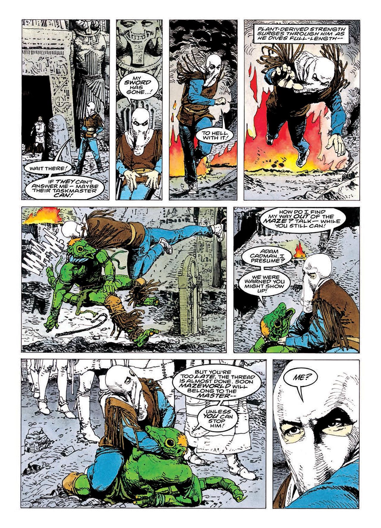 Read online Mazeworld comic -  Issue # TPB - 165