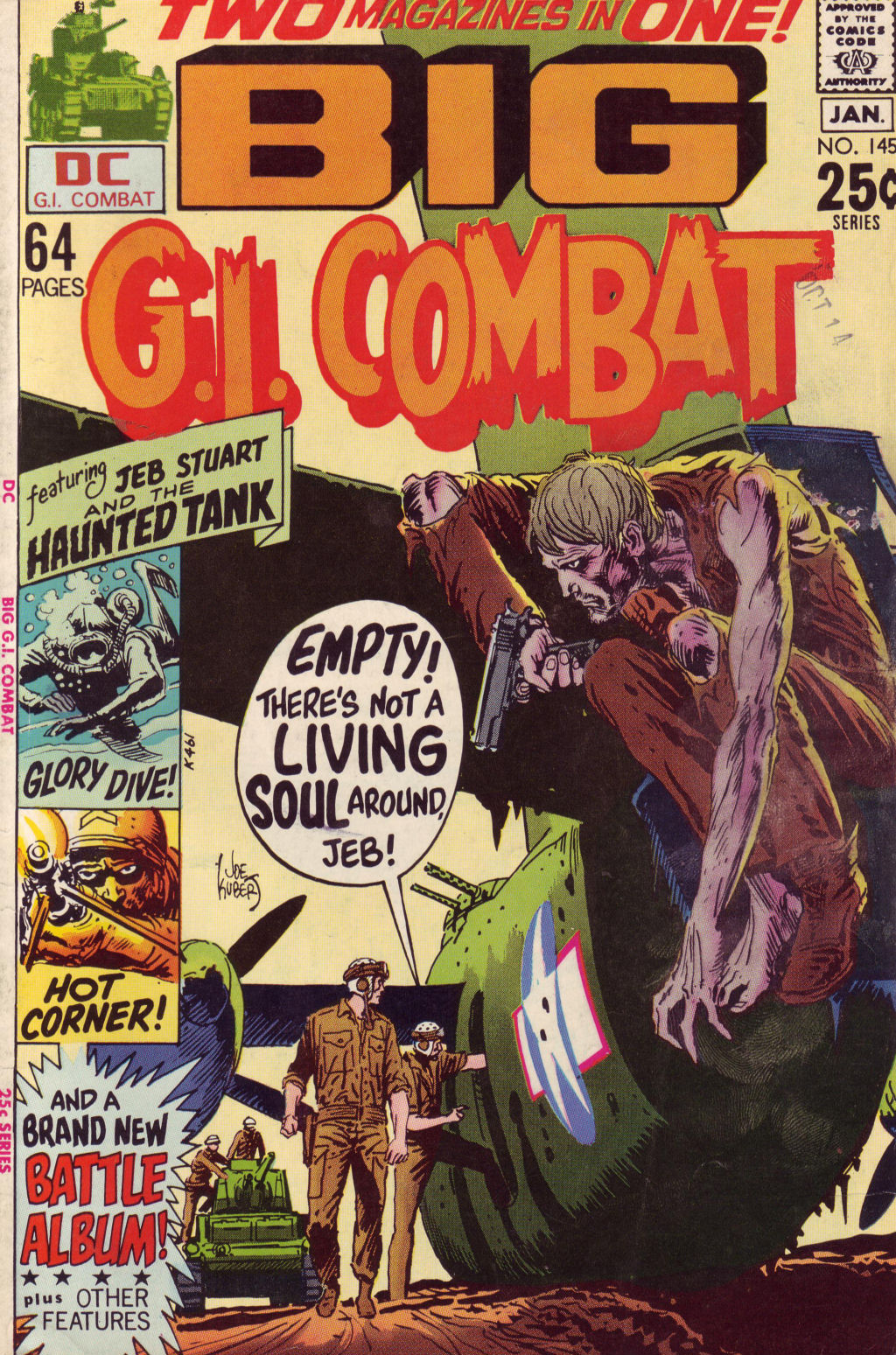 G.I. Combat (1952) issue 145 - Page 1