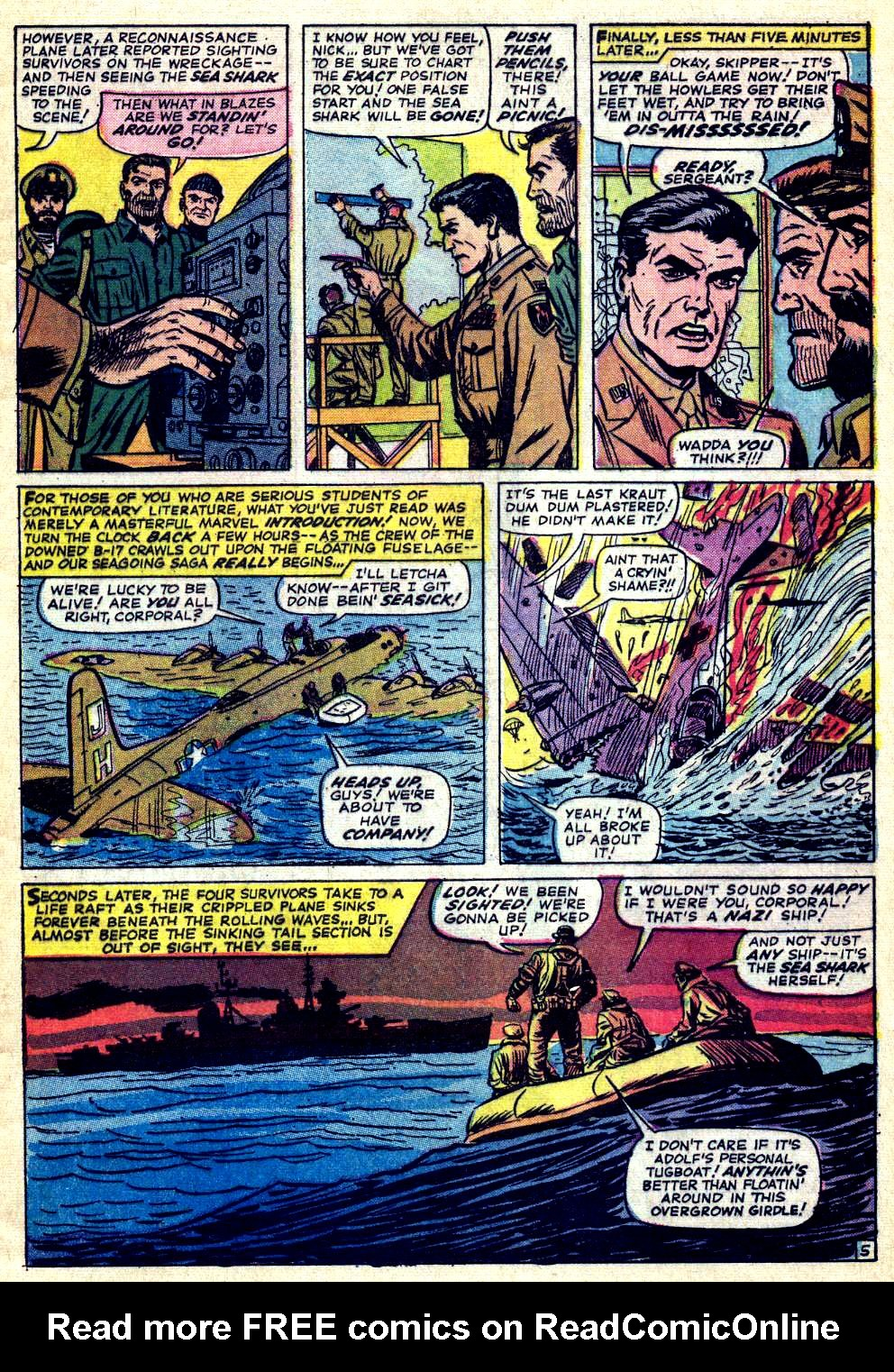 Read online Sgt. Fury comic -  Issue #26 - 9