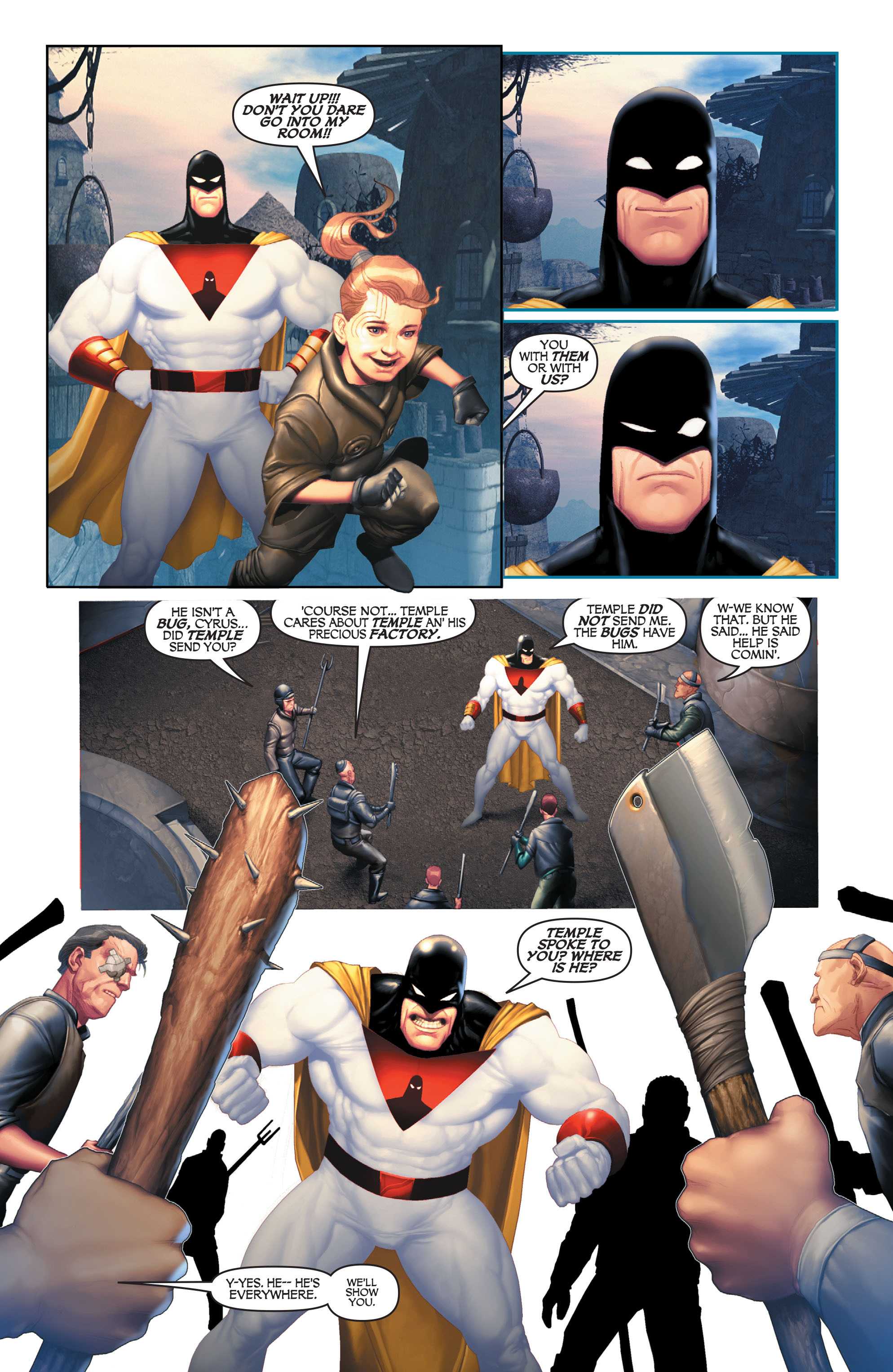 Read online Space Ghost (2016) comic -  Issue # Full - 95