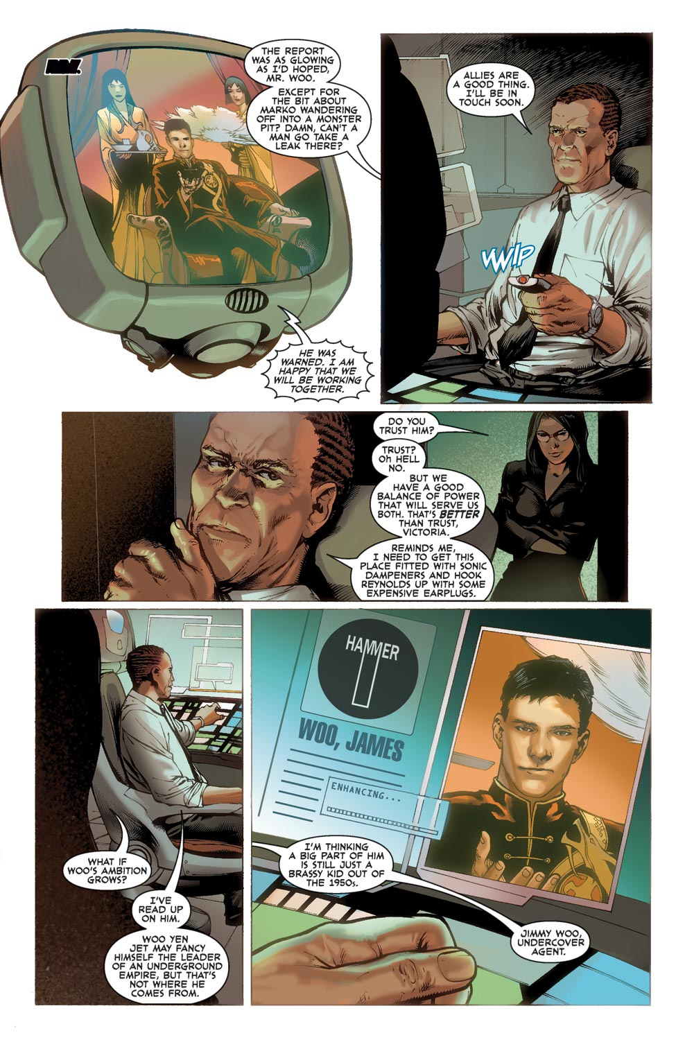 Read online Agents Of Atlas (2009) comic -  Issue #1 - 23