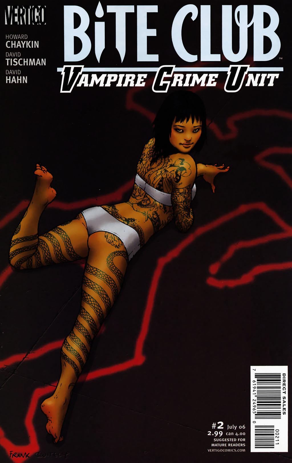 Bite Club - Vampire Crime Unit issue 2 - Page 1