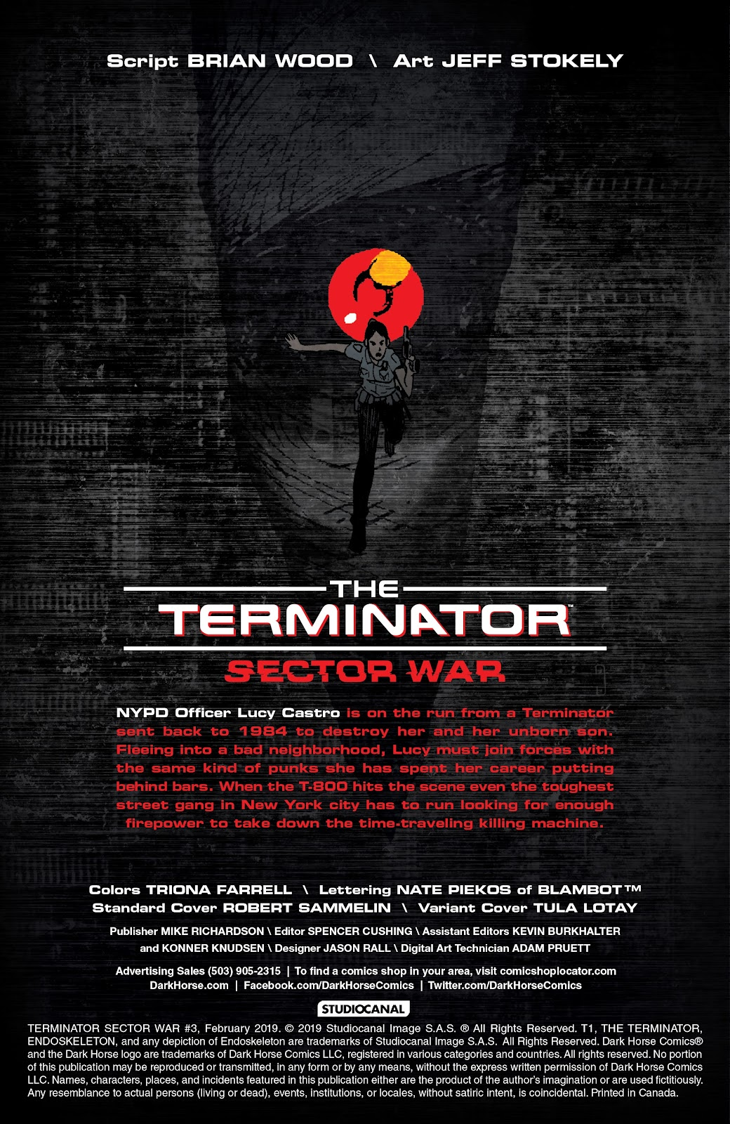 Read online The Terminator: Sector War comic -  Issue #3 - 2
