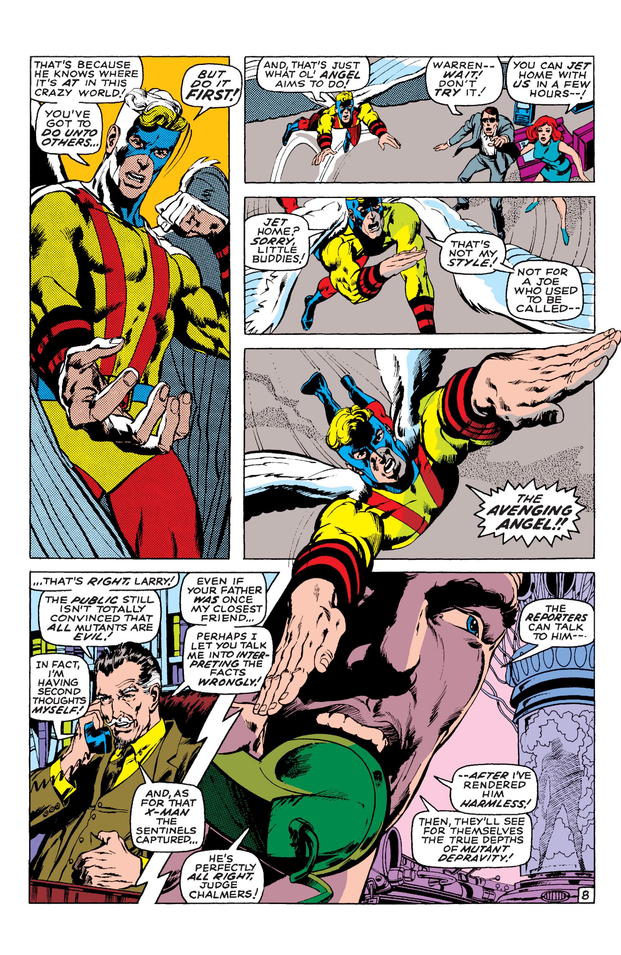 Read online Uncanny X-Men (1963) comic -  Issue #58 - 8